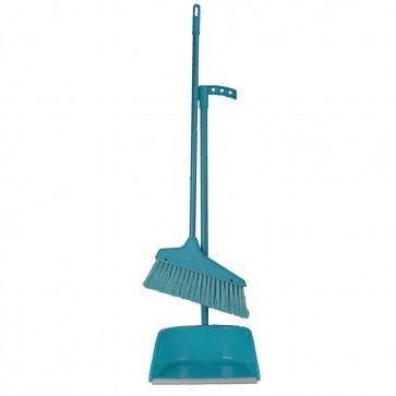 Economy Broom & Dust Pan Set