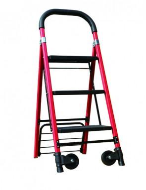 2 in 1 Aluminium Ladder Hand Truck Trolley (H-0080)