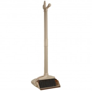Broom & Bucket Type Dust Pan Set with Comb