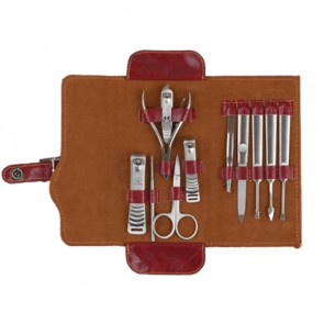 Luxury Pouch Manicure / Pedicure & Grooming Kit