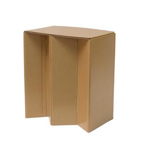 Multipurpose Folding Cardboard Stool (Small)