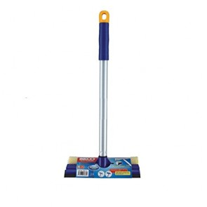 Window & Glass Cleaner With Telescopic Handle & Rubber Squeegee (SMALL)