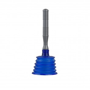 Drain Opener With Tall Plunge Cup & Long Handle