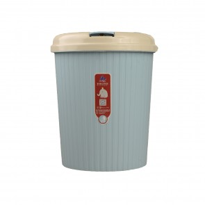 Plastic Dust / Trash Bin With Lid (SMALL)