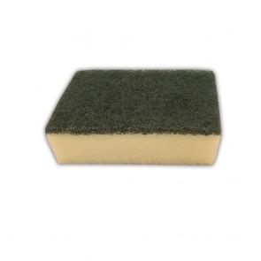 Scotch-Brite Green Kitchen Scourer with Sponge (Large)