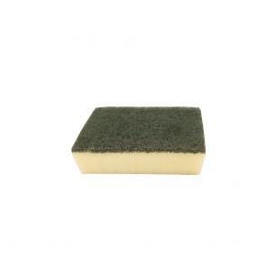 Scotch-Brite Green Kitchen Scourer with Sponge (Small)