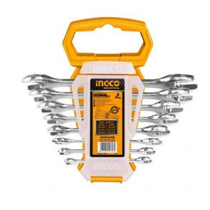 INGCO Double Open End Spanner Set (INDUSTRIAL)