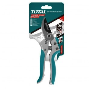 TOTAL 205MM Pruning Shears With Slide Lock