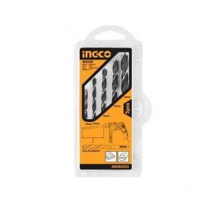 INGCO 5 Pcs Wood Drill Bits Set